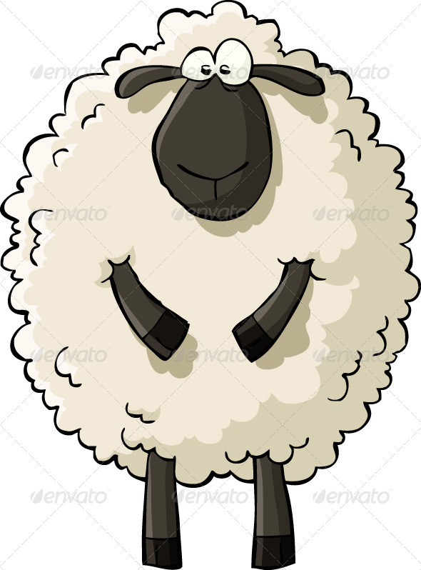 Drawn sheep clipart Vector Lambs of download about
