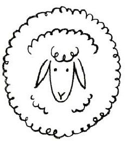 Drawn sheep face : Draw Best Sheep Sheep