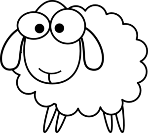 Simple clipart sheep Lamb art lamb god print
