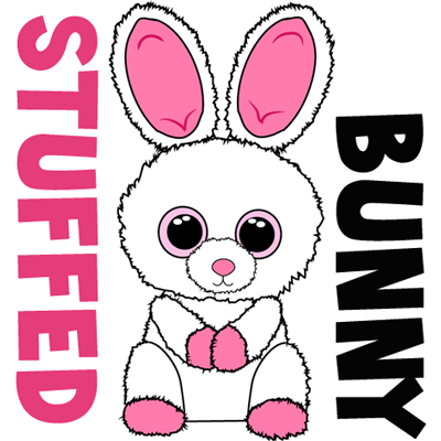 Drawn rabbit baby animal Step to with Bunnies Easy