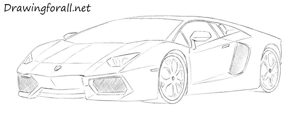 Drawn lamborghini To a to Lamborghini how
