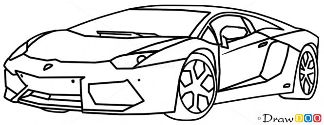 Drawn lamborghini Draw How  Lamborghini To