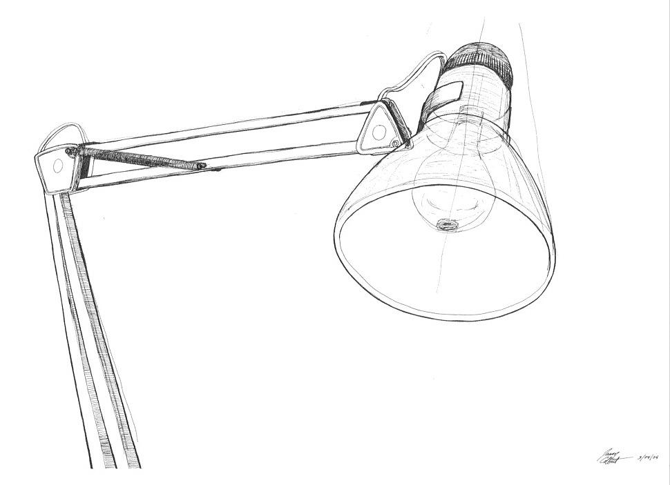 Drawn lamp Drawing Lighting lamp lamp a