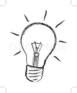 Drawn lamp light globe Google examples bulb best 189
