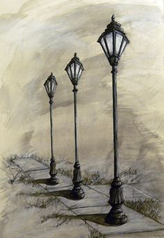Drawn lamps One to Search Search one