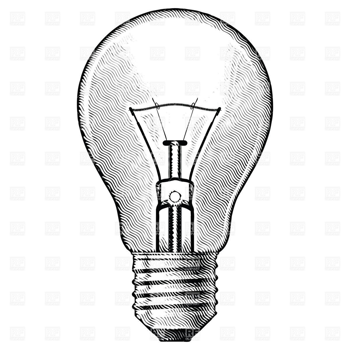 Drawn lamps Lightbulb Pinterest Tattoo Bulb DrawingLightbulb
