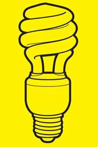 Drawn bulb cfl bulb CFL Future Light The the