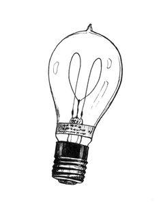 Drawn lamps Light  Tattoos vintage light