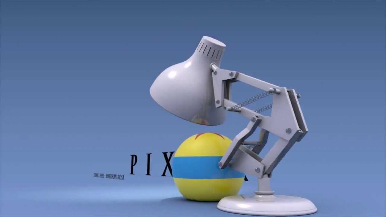 Drawn bulb pixar lamp Pixar YouTube Luxo Jr