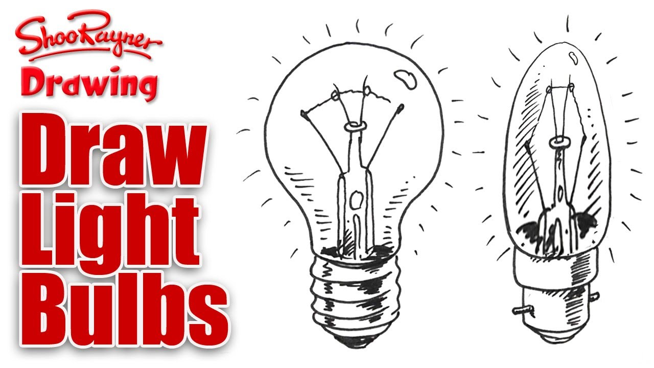 Drawn lamp technical drawing Draw How  to YouTube