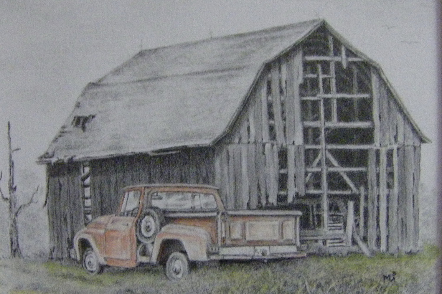 Structure clipart old barn Pencil Tractor ideas Best and