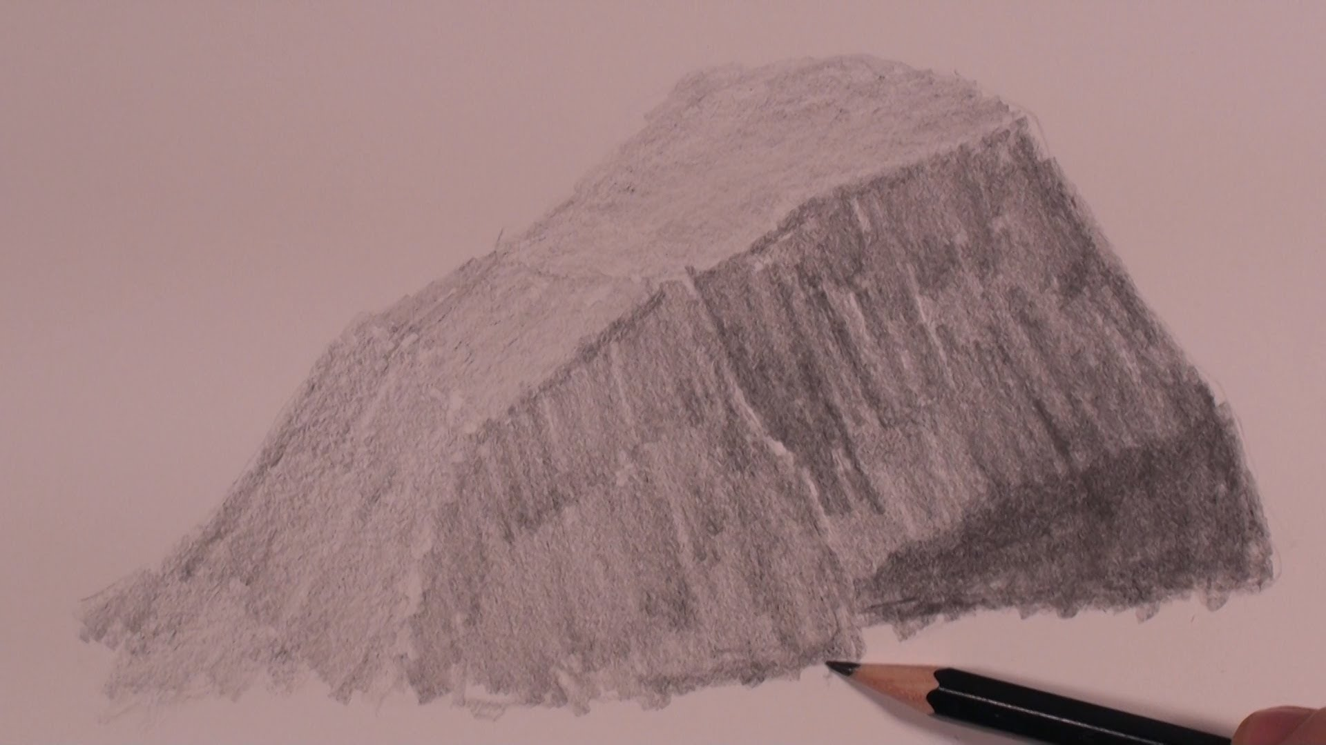 Drawn rock realistic Drawing of The YouTube