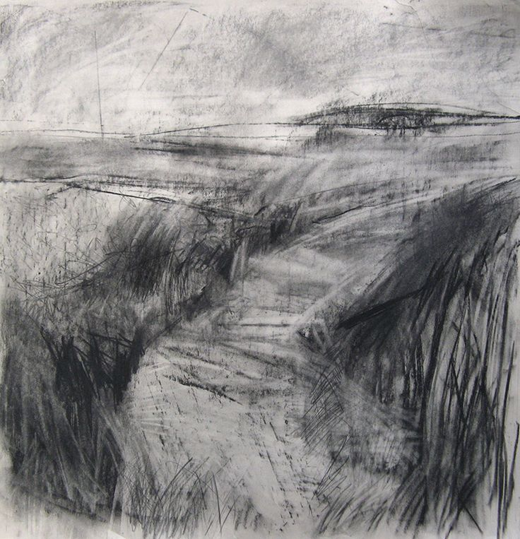 Drawn cilff landscape  on drawings Pinterest The