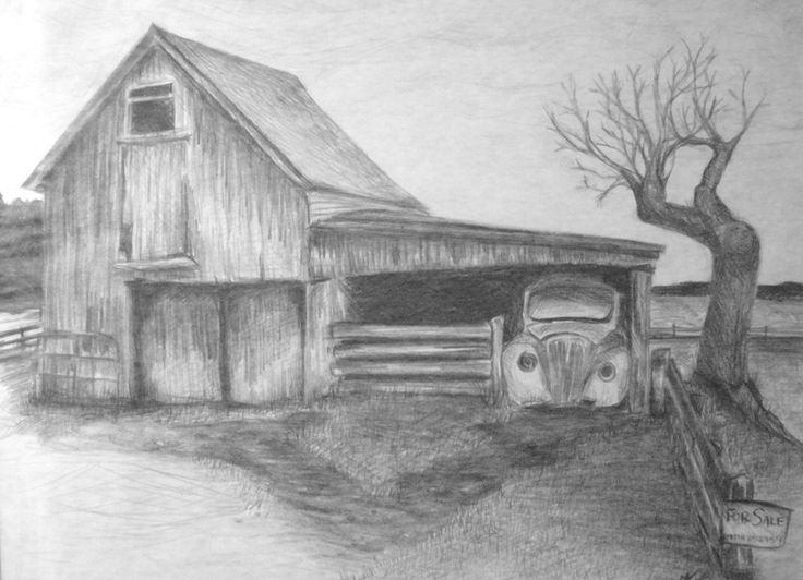 Drawn landscape easy 20+ Pinterest To Drawing ideas