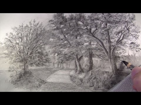 Drawn road pencil drawing 10 Landscapes 10 Landscapes Best