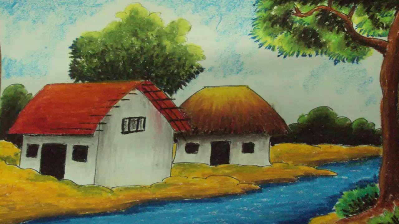 Drawn camel house Episode Draw to Village Oil