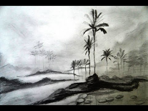 Drawn scenery shading How How to scenery a