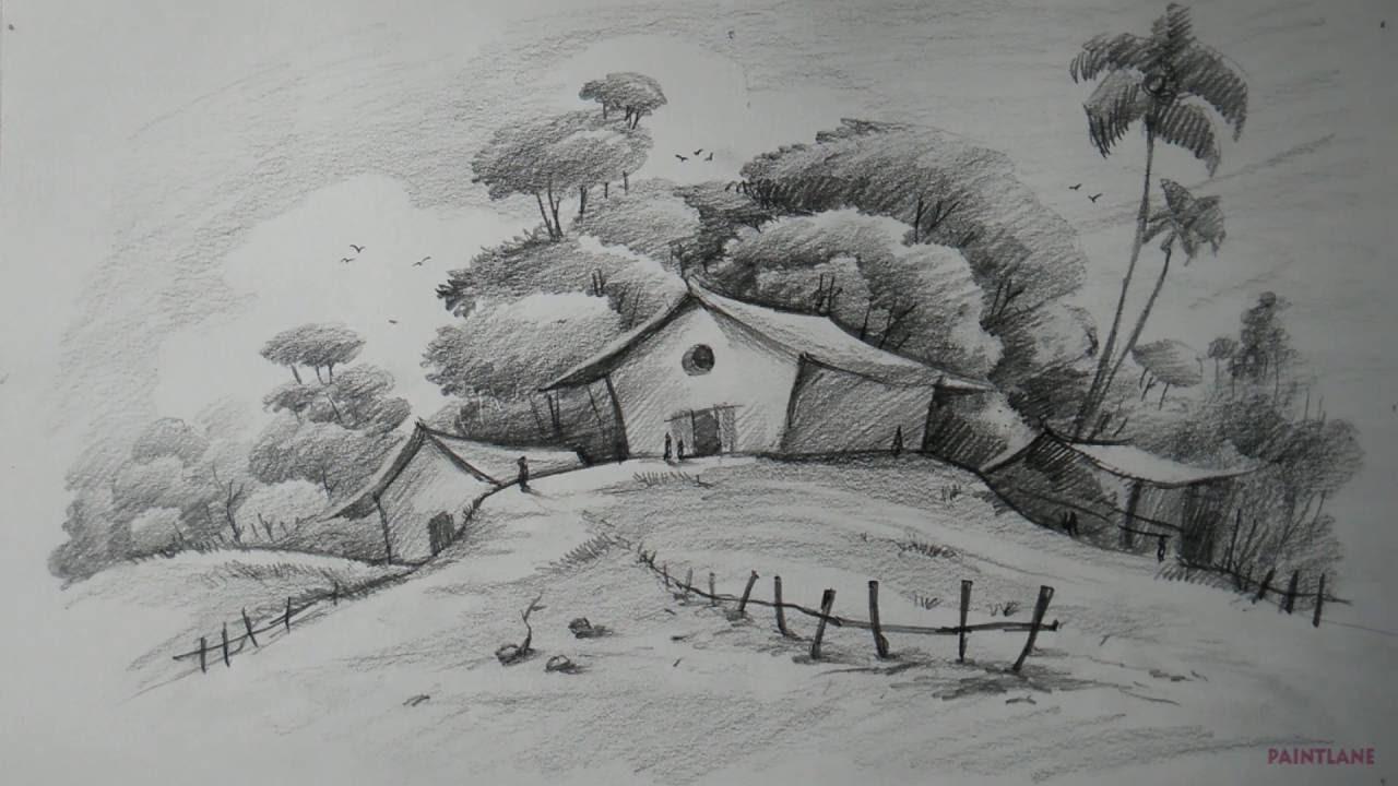 Drawn scenery beginner Easy How Beginners from PAINTLANE?