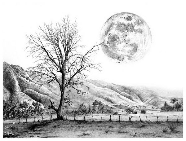 Drawn scenery art 50 Drawings Drawings Drawings Pencil