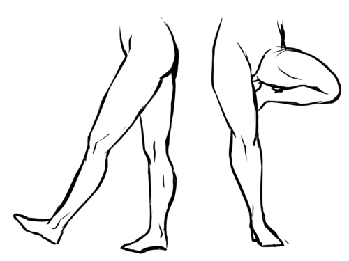 "Drawn legs E L follow too ""flow""!"