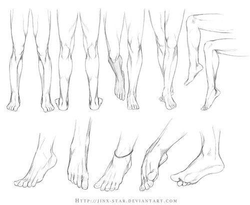 Drawn legs Tutorial feet  Tumblr