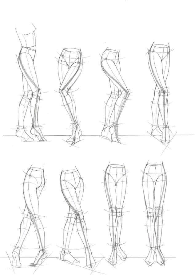 Drawn figurine practice Fashion corpo croqui 304 desenho