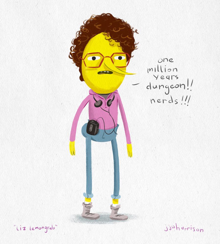 Drawn lemon Teen daughter Harrison y/o heartthrob