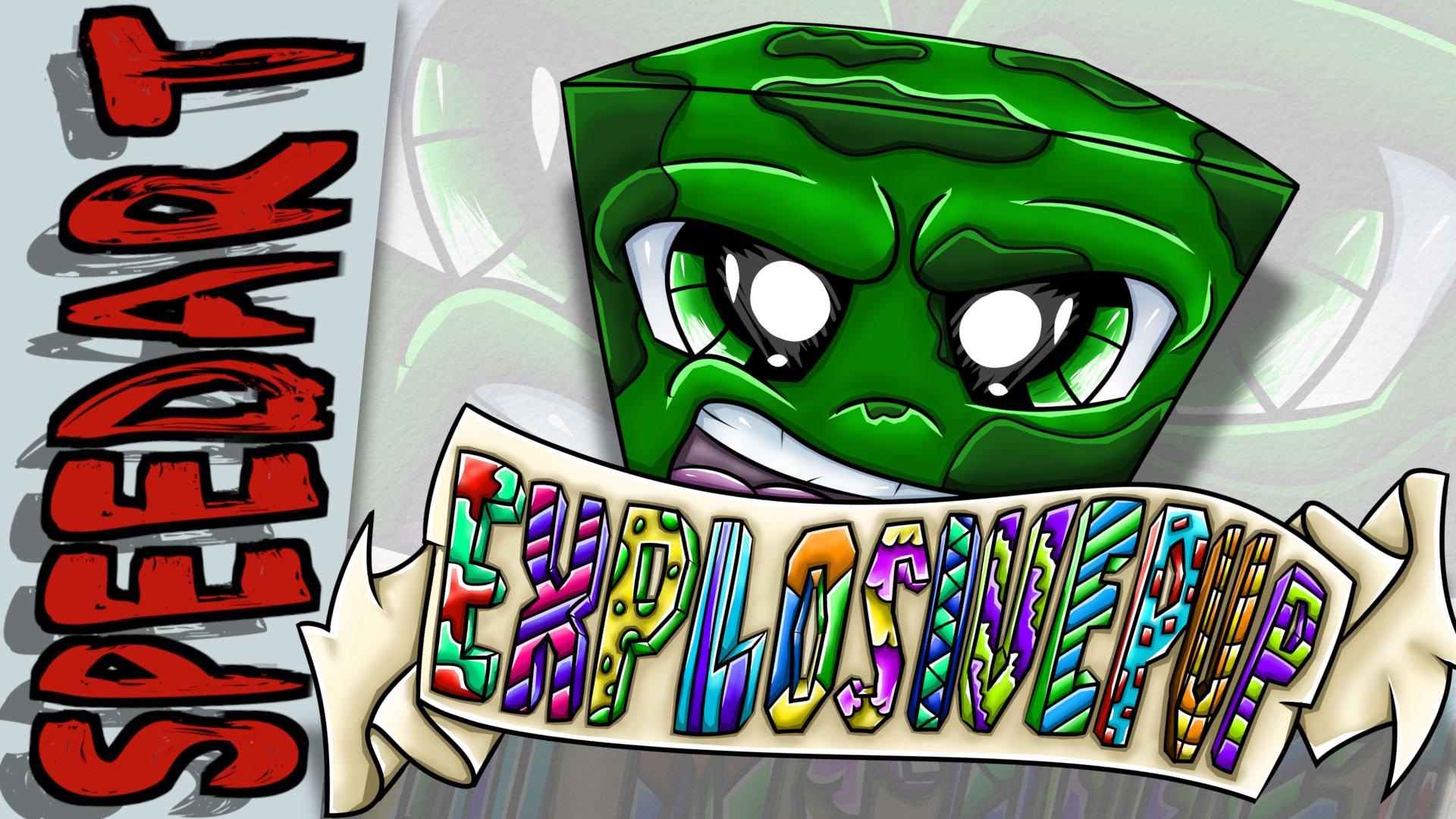 Drawn lemon minecraft Minecraft Art Logo Speed Digital