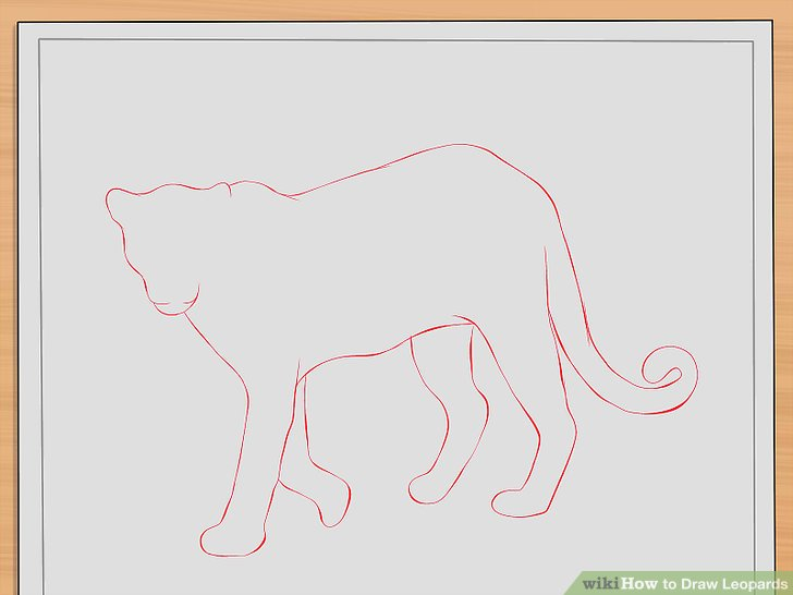 Drawn leopard skin easy Pictures) Leopards: wikiHow Draw Draw