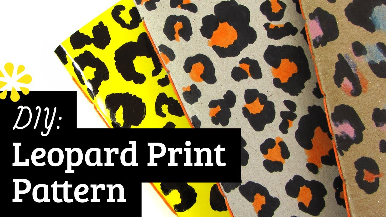 Drawn leopard skin easy Pattern: to Draw YouTube How