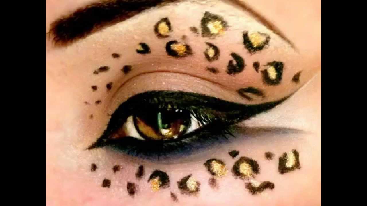 Drawn leopard skin gold YouTube Leopard Print (Halloween) Tutorial