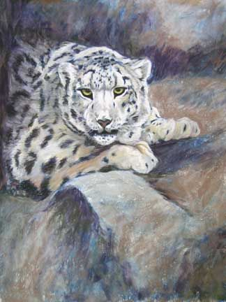 Drawn leopard skin painting Leopard and Drawing on Pastel