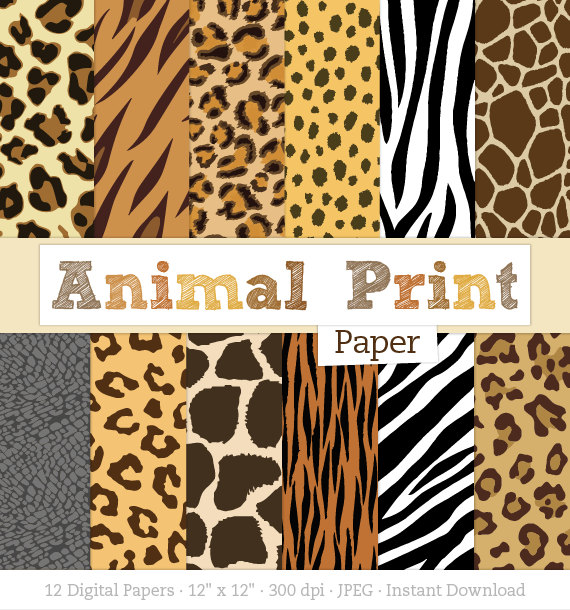 Stripe clipart jungle animal Animal  Spots Zebra Print