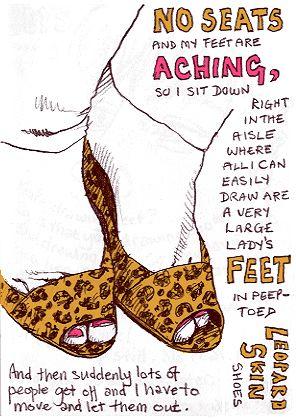 Drawn leopard skin sketch Chapman Leopard How Lynne Chapman