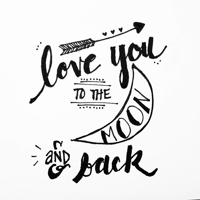 Drawn quote hand lettered One Artsy  Embellishment Artsy