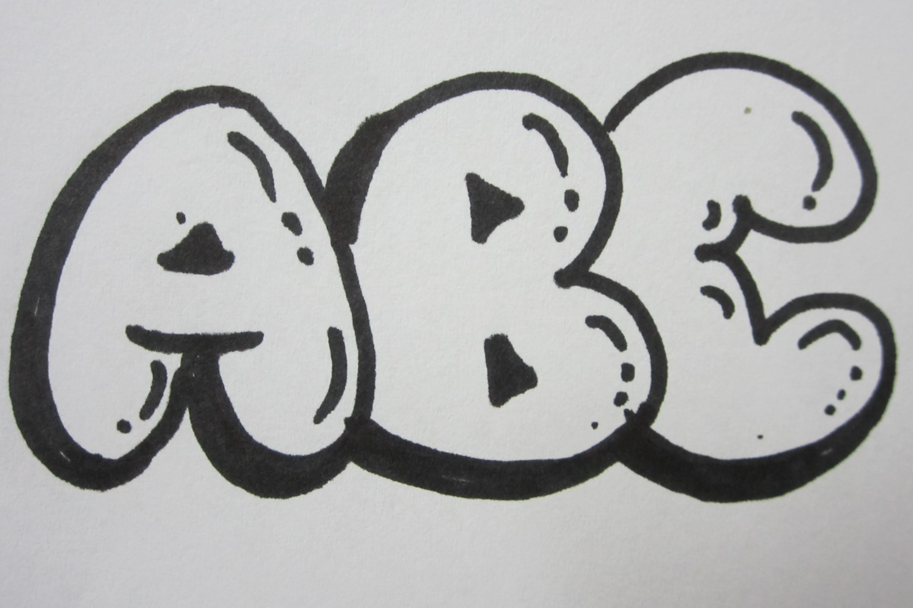 Drawn typeface 3d bubble letter Letters YouTube Bubble To Draw