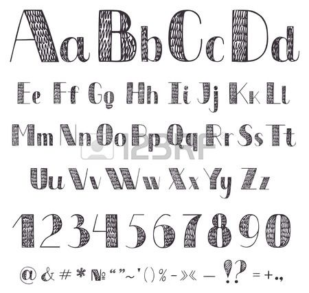 Drawn typeface cute To For fonts Fonts Cool