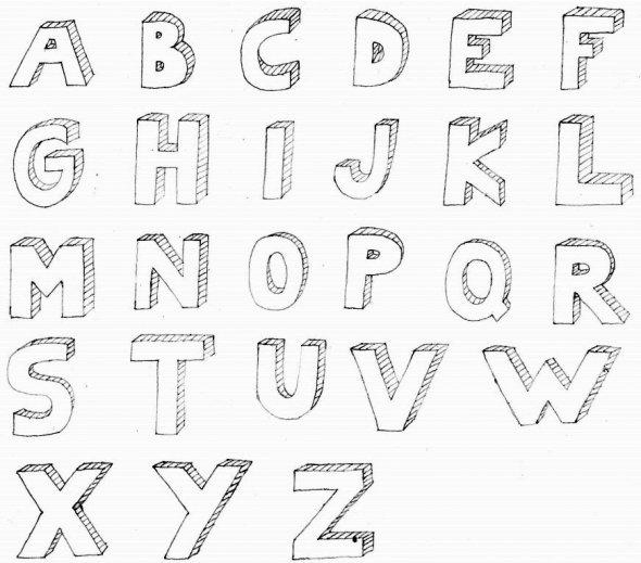 Drawn typeface 3d bubble letter Kids Pinterest Alphabet For Documents