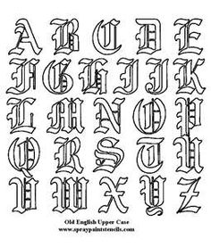 Drawn typeface old english Letters Alphabets how english Search