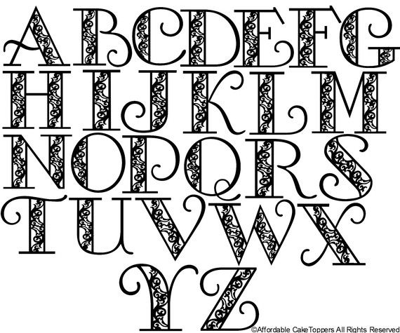 Drawn text Images Letters 164 on letters