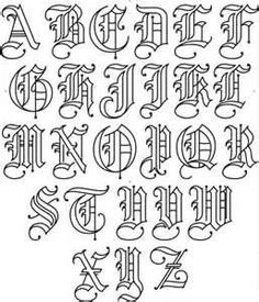 Drawn typeface old english Designs  Fonts Text Letterhead