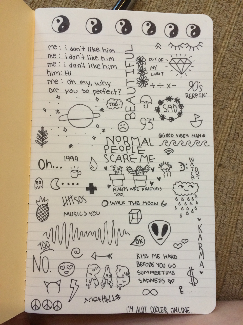 Drawn quote paper tumblr We It Pinterest on It