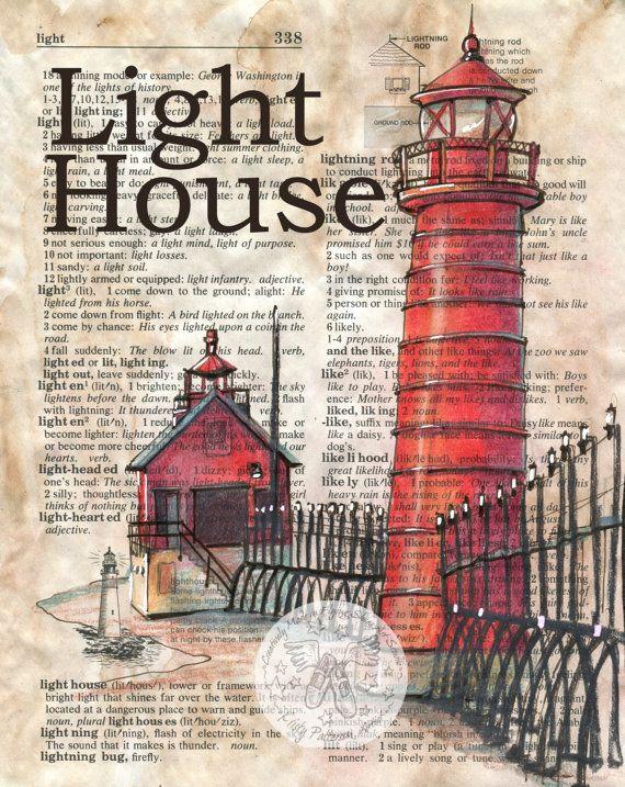 Drawn lighhouse cartoon Drawing mezclado ArtLighthouse página Más