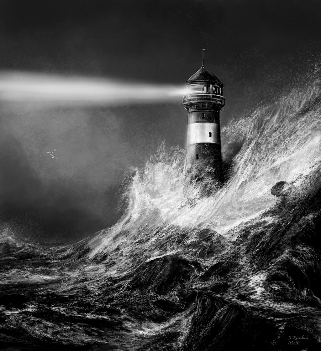 Drawn lighhouse black and white Lighthouse Google Art lighthouse Pinterest