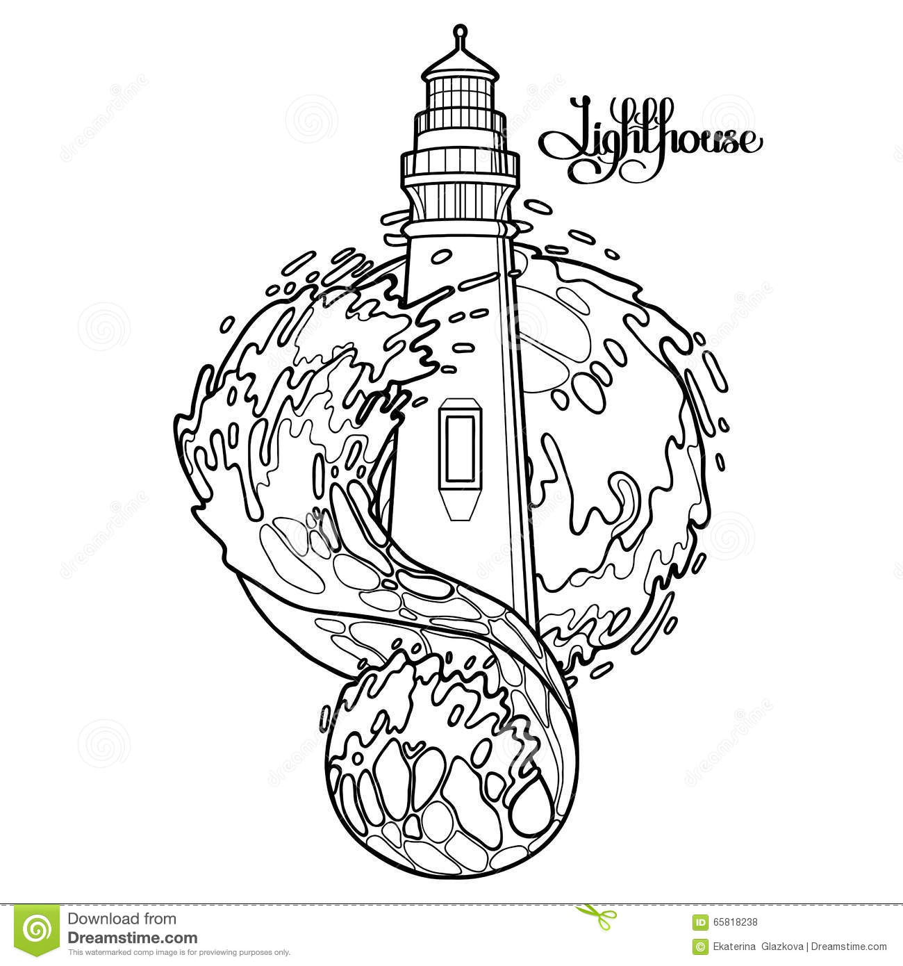 Drawn lighhouse line drawing #tattoo Tatuagens lighthouse #draw #farol