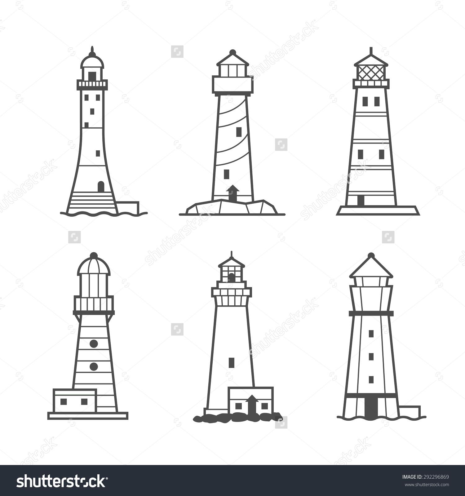 Drawn lighhouse outline Images Lighthouse Lighthouse Hand Lighthouse