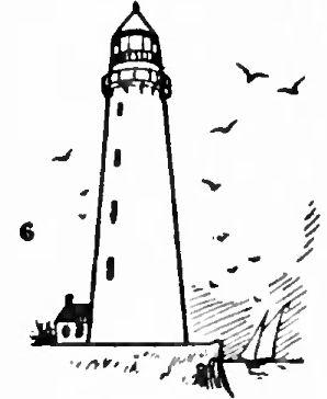 Drawn lighhouse outline Step How Step images Lighthouses