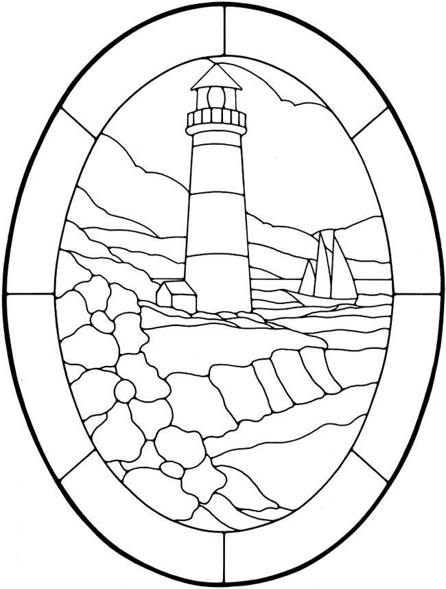 Drawn lighhouse outline Nautical Glass Nautical Dover Pinterest