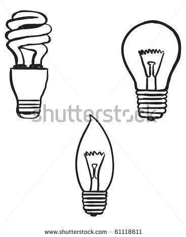 Drawn lamp cfl bulb Lightbulb Free Panda Clipart light%20bulb%20drawing