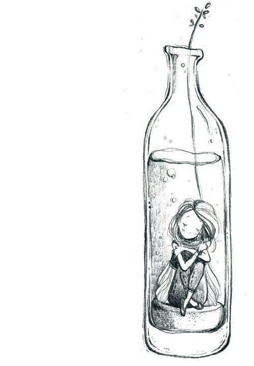 Drawn lightening And // Sketch 15 Day